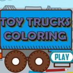 Toy Trucks Coloring